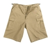 Rothco Khaki Long BDU Shorts - 7965