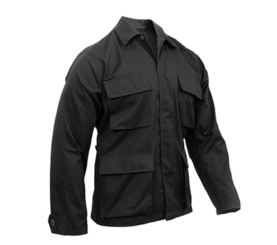 Rothco Black Military BDU Shirts - 7970