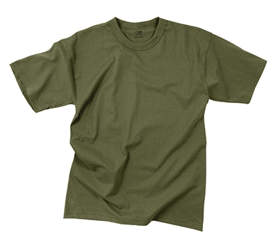 Rothco Olive Drab 100% Cotton T-Shirt - 7979