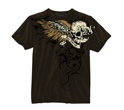 Rothco Brown Airborne Death From Above T-Shirt - 80365