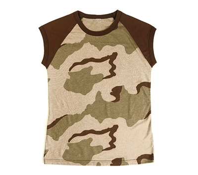 Rothco Womens Tri Color Camo Raglan T-shirt - 8038