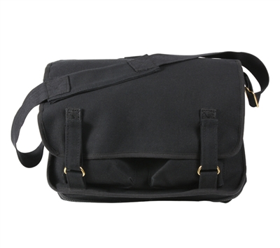 Rothco Black European School Bag - 8118