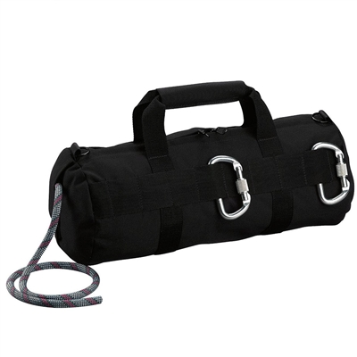 Rothco Black Stealth Rapelling Bag - 8170