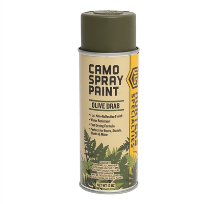 Rothco Olive Drab Camouflage Spray Paint - 8223