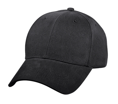 Rothco Black Low Profile Cap - 8283