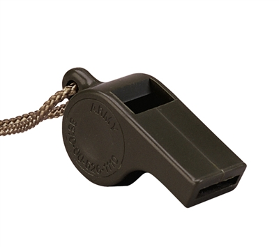 Rothco Olive Drab Police Whistle - 8300