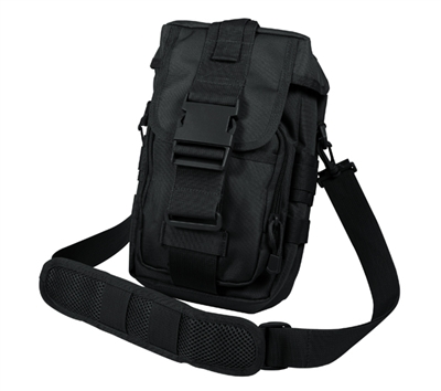 Rothco Black Flexipack Molle Shoulder Bag - 8320