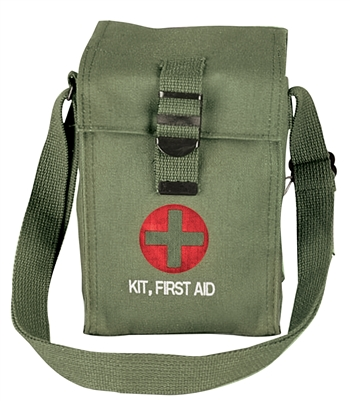 Rothco Olive Drab Platoon Leaders First Aid Kit - 8324