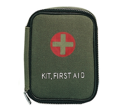 Rothco Military Zipper First Aid Kit - 8325