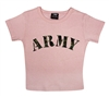 Rothco Girls Pink Army T-Shirt - 8355