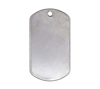 Rothco Shiny Stainless Dog Tags - 8381