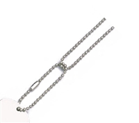 Rothco Silver Dog Tag Chain Set - 8384