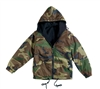 Rothco Woodland Camo Reversible Jacket - 8463