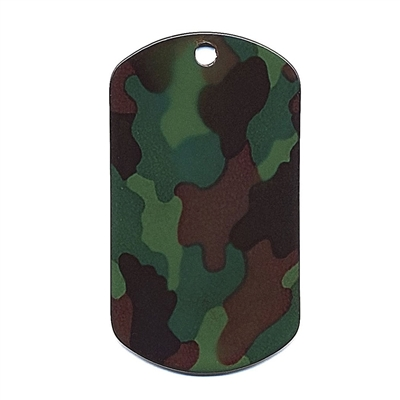 Rothco Woodland Camo Dog Tag - 8496