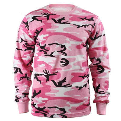 Rothco Pink Camo Long Sleeve T-Shirt - 8497