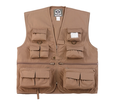 Rothco Kids Khaki Uncle Milty Vest - 8546