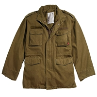 Rothco Russet Brown Vintage M-65 Field Jacket - 8616