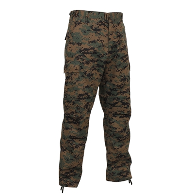 Rothco Digital Woodland Camo BDU Pants - 8675