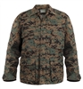 Rothco Digital Woodland Camo BDU Shirt - 8690