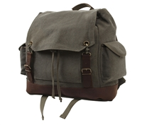 Rothco Olive Drab Vintage Expedition Rucksack - 8704