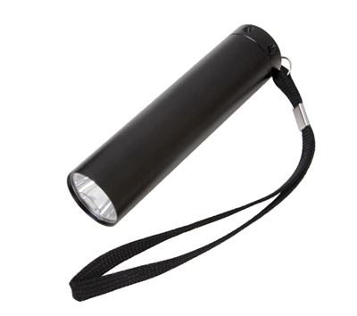 Rothco Black Single Led Flashlight - 874