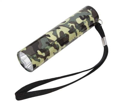Rothco Woodland Camo Single Led Flashlight - 877