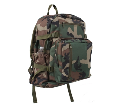 Rothco Woodland Camo Backpack - 88557