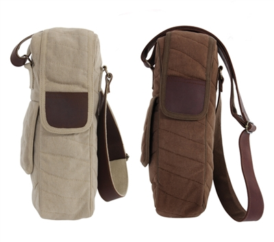 Rothco Vintage Canvas Bottle Bag - 8880