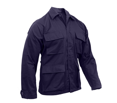 Rothco Navy BDU Button Down Shirts - 8885