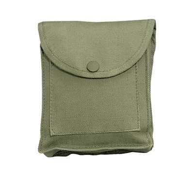 Rothco Olive Drab Canvas Utility Pouch - 9001