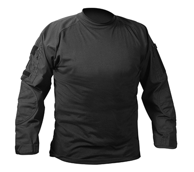 Rothco Black Military Combat Shirt - 90010