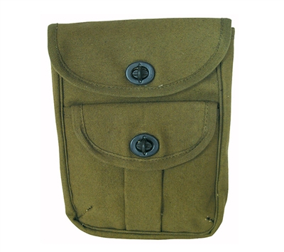 Rothco Olive Drab 2-pocket Ammo Pouch - 9002
