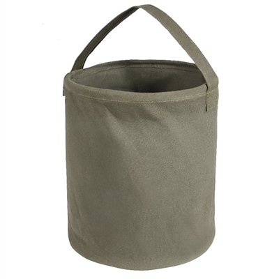 Rothco Olive Drab Canvas Large Water Bucket - 9003