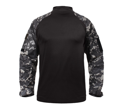 Rothco Combat Shirt - Subdued Urban Digital Camo