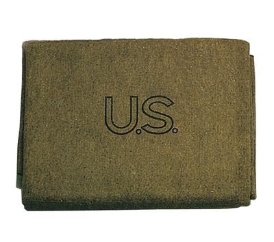 Rothco Olive Drab US Wool Blanket - 9084