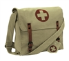 Rothco Khaki Vintage Canvas Medic Bag - 9121