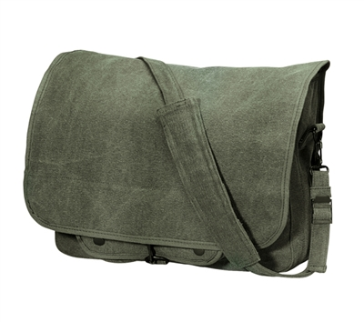 Rothco Olive Drab Classic Paratrooper Bag - 9128