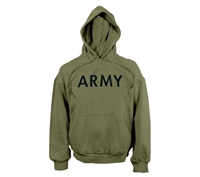 Rothco Olive Drab Army Hooded Sweatshirt - 9172