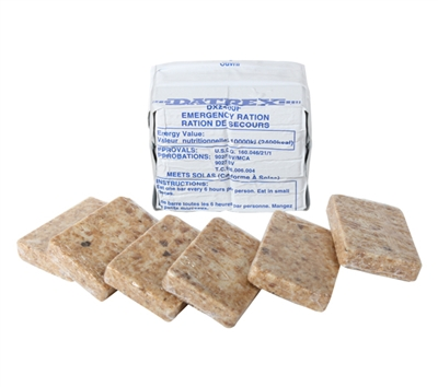 Datrex 2400 Calorie Emergency Food Ration - 9208