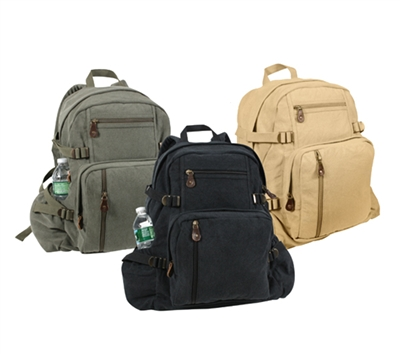 Rothco Vintage Canvas Backpack - 9262