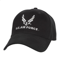 Rothco Black Air Force Cap - 9280