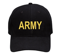 Rothco Black Army Cap - 9285