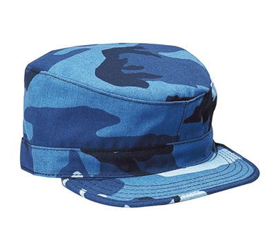 Rothco Sky Blue Camouflage Fatigue Cap - 9334