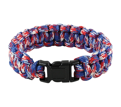 Rothco Red-White-Blue Paracord Bracelet - 934