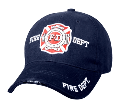 Rothco Navy Fire Department Cap - 9365