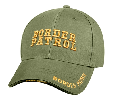 Rothco Olive Drab Border Patrol Deluxe Low Profile Cap - 9368