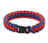 Rothco Red and Blue Paracord Bracelet - 938