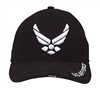 Rothco Black New Wing Air Force Cap - 9384