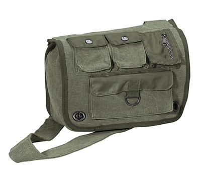 Rothco Olive Drab Vintage Shoulder Bag - 9386