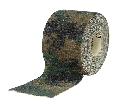 Digital Woodland Camo Mcnett Camo Form - 9412